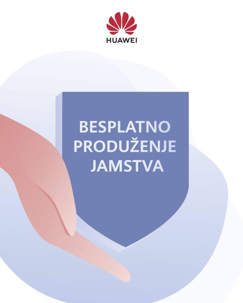 Huawei produljuje jamstvo