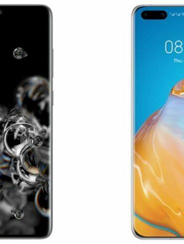 Samsung Galaxy S20 Ultra Huawei P40 Pro