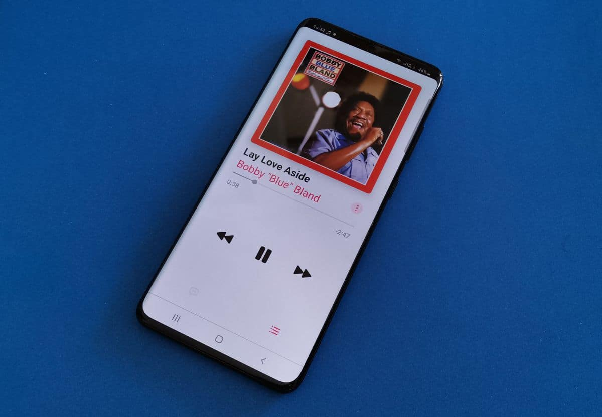 Apple Music na Samsung Galaxy S20 2