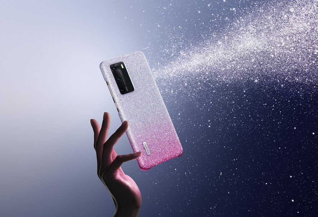 P40 Pro Crystal phone case