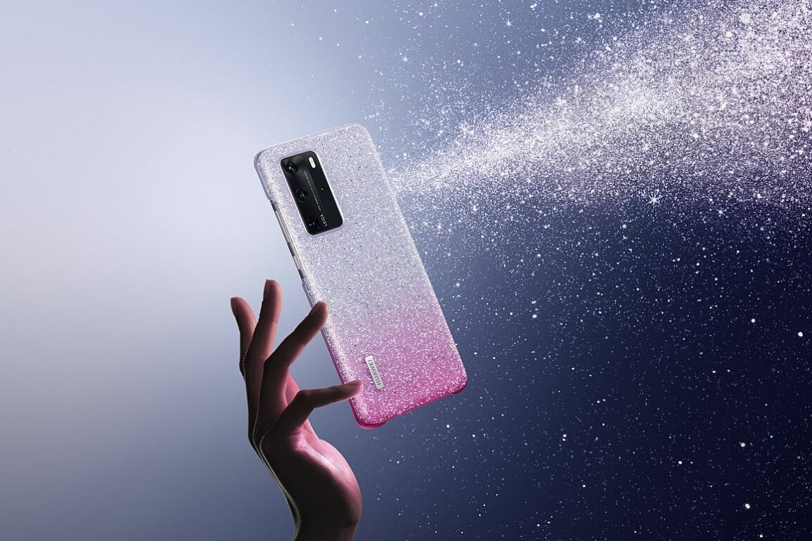 P40 Pro Crystal phone case