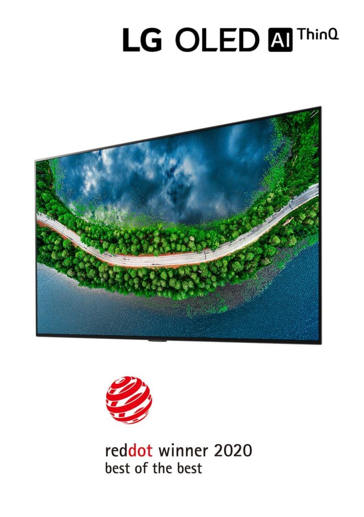Red Dot 2020 LG OLED TV GX 02