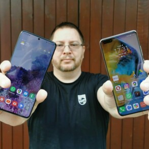 Samsung Galaxy S20 vs Huawei P40 Pro 1