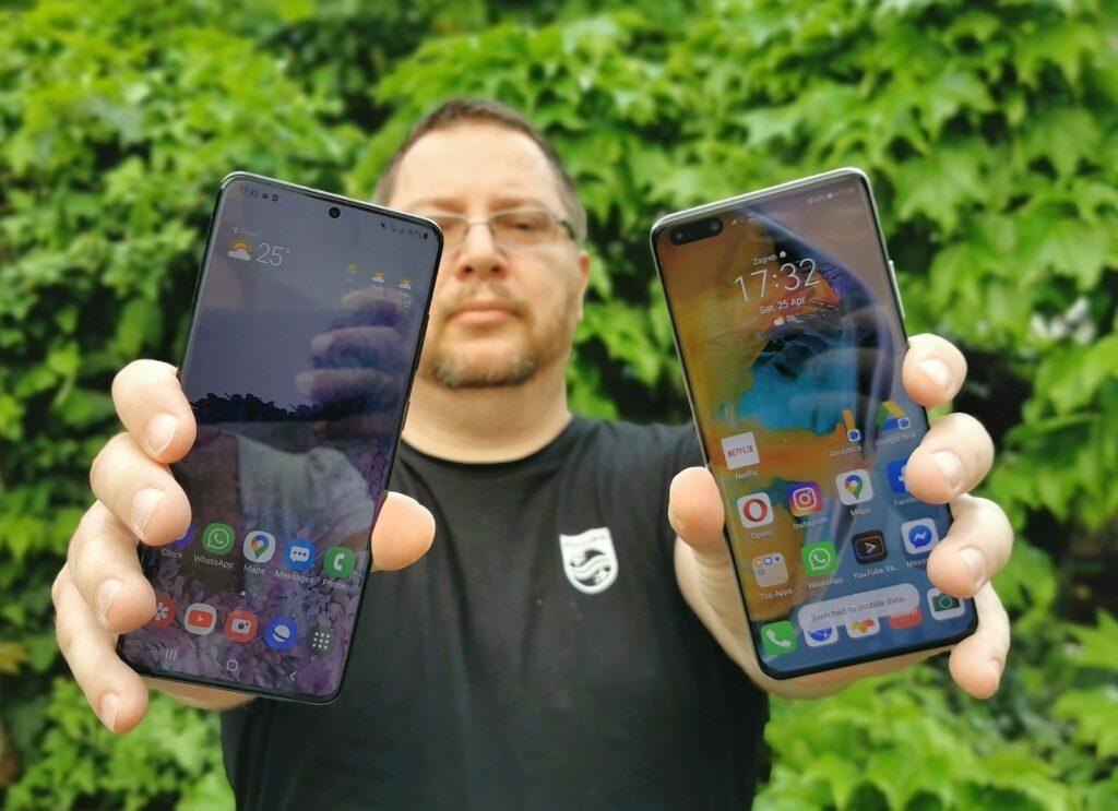 Samsung Galaxy S20 vs Huawei P40 Pro 13
