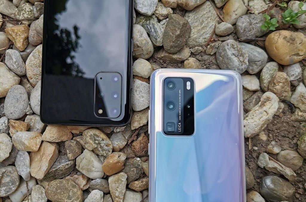 Samsung Galaxy S20 vs Huawei P40 Pro 3