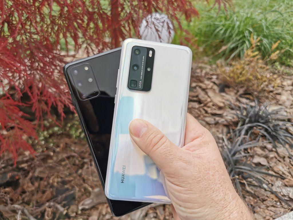 Samsung Galaxy S20 vs Huawei P40 Pro 6