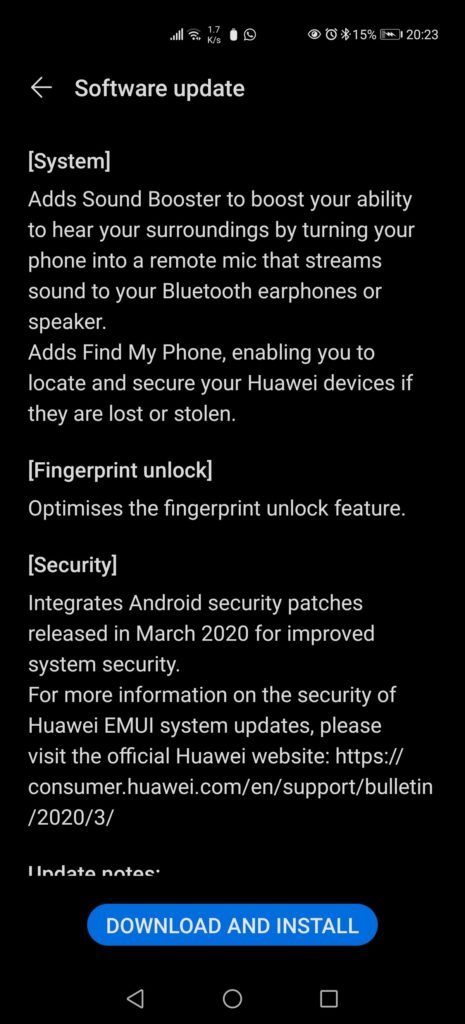 Screenshot 20200407 202335 com.huawei.android.hwouc