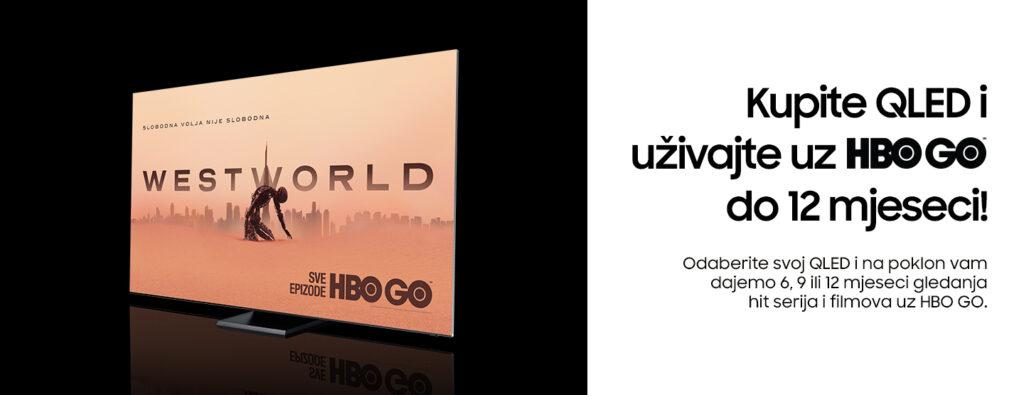 Samsung QLED HBO GO