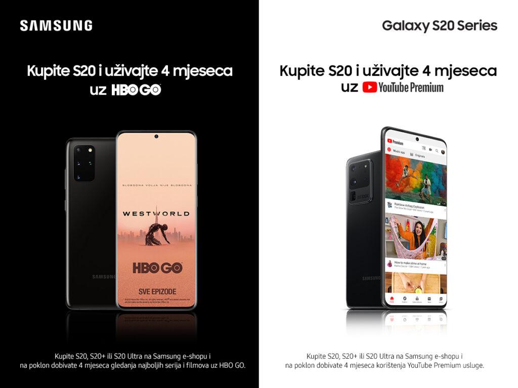 Samsung S20 HBO GO