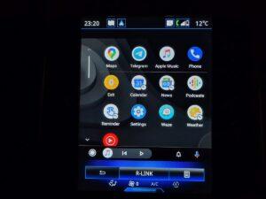 Android Auto u Renault Grand Scenic 3