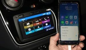 Dacia Dokker Android Auto 1