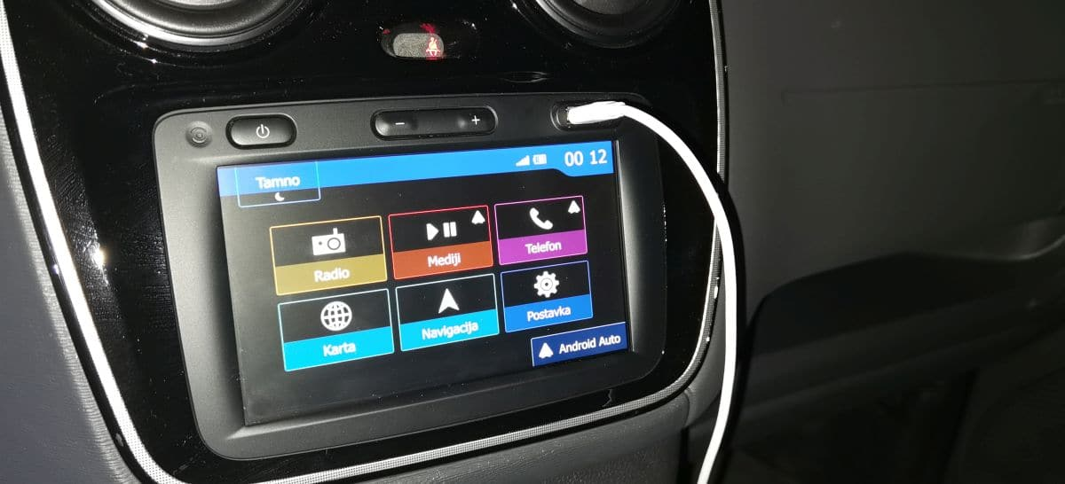 Dacia Dokker Android Auto 2