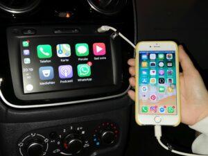 Dacia Dokker Apple CarPlay 17