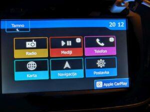 Dacia Dokker Apple CarPlay 2