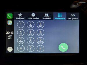 Dacia Dokker Apple CarPlay 5