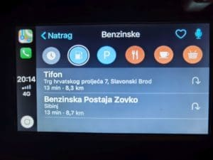 Dacia Dokker Apple CarPlay 9
