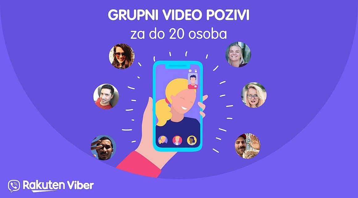 viber pozivi za 20 osoba