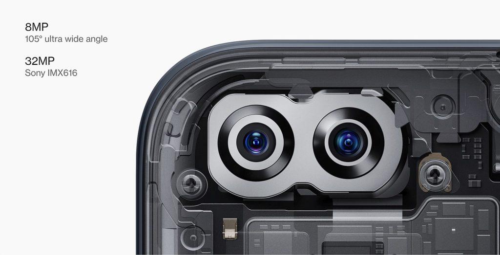 OnePlus Nord 5G selfie kamera