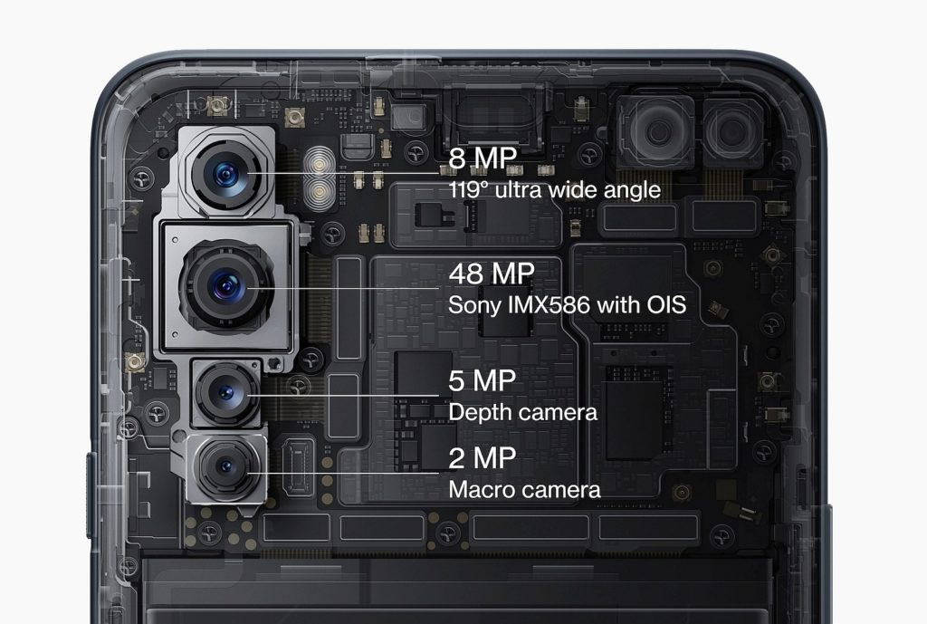 OnePlus Nord 5G stražnja kamera