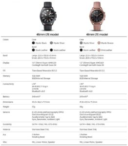 Samsung Galaxy Watch 3 6