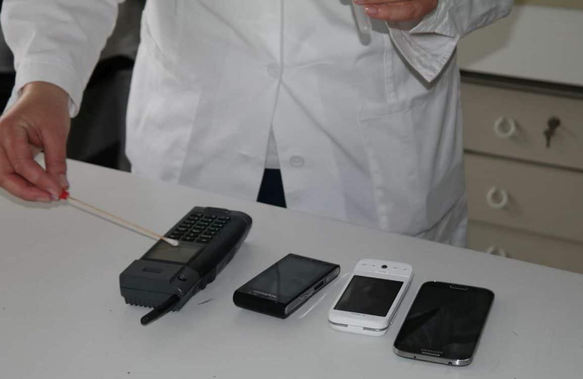 Test bakterije na mobitelu 4