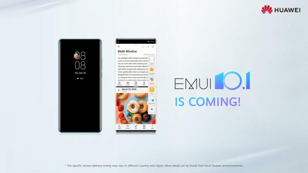 Huawei najavljuje softversku nadogradnju EMUI 10.1