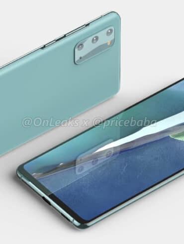 Samsung Galaxy S20 Fan Edition 1