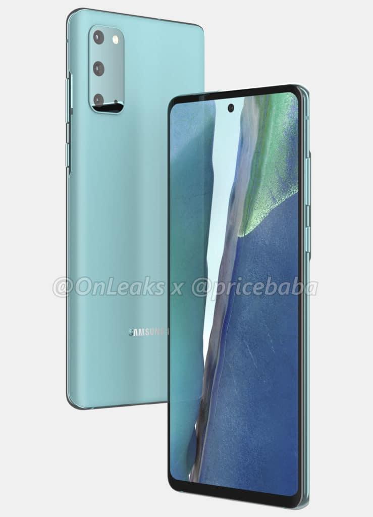 Samsung Galaxy S20 Fan Edition 2