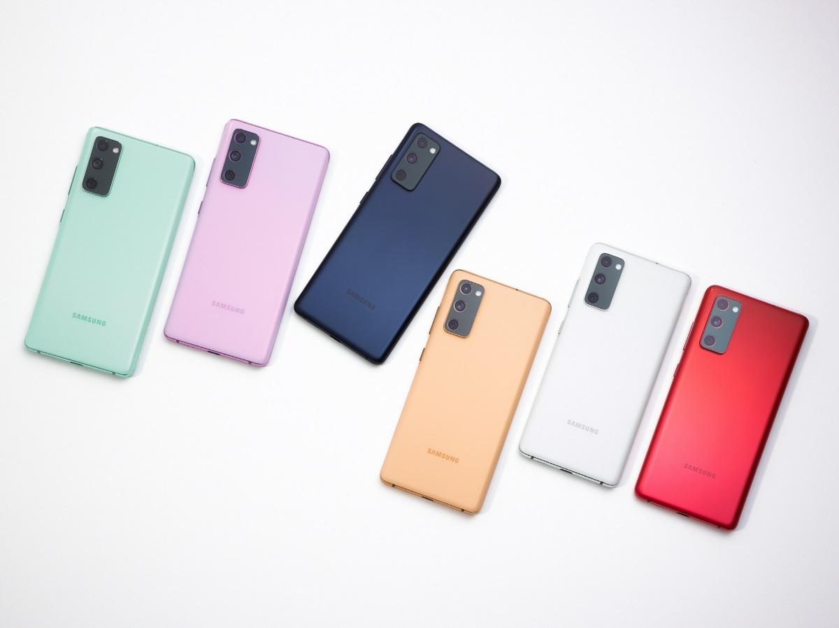 2. Galaxy S20 FE Colors 21