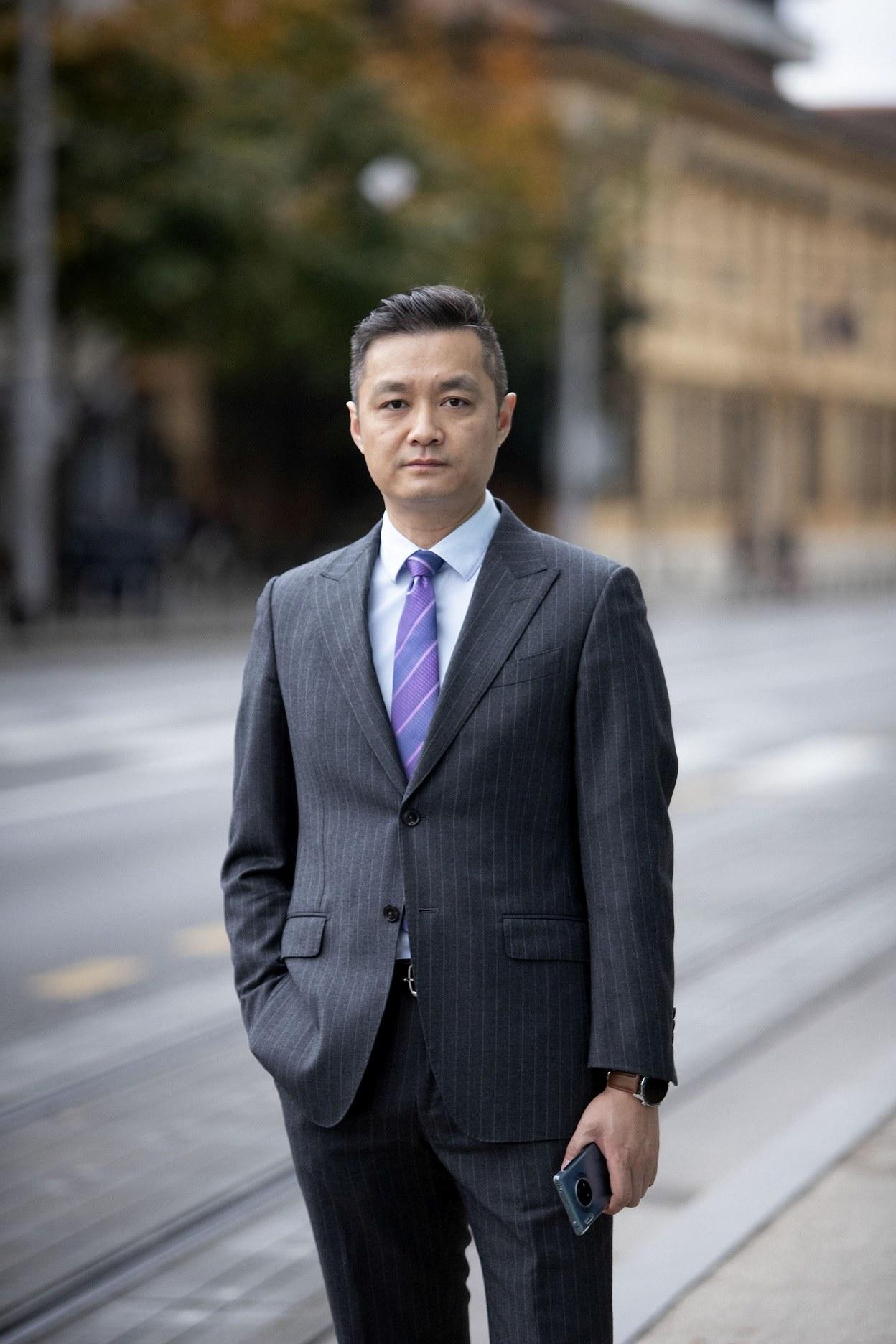 Fotografija 1 Zhang Heng glavni direktor Huawei Technologies Croatia