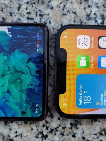 Samsung Galaxy S20 FE vs iPhone 12 1