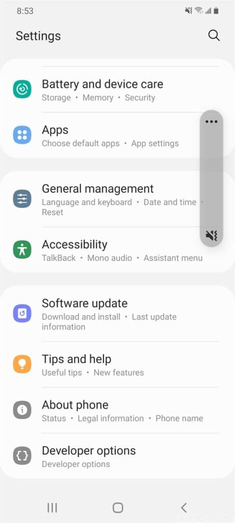 Samsung One UI 3.0 Beta on Galaxy S20 04