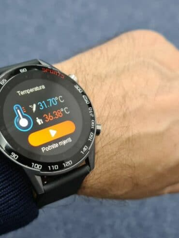 meanIT Smart Watch M20 Termo 3