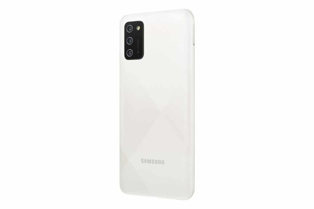 SM A025 Global Galaxy A02s White Back L30