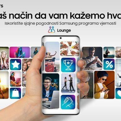 FOTO Samsung Lounge program vjernosti