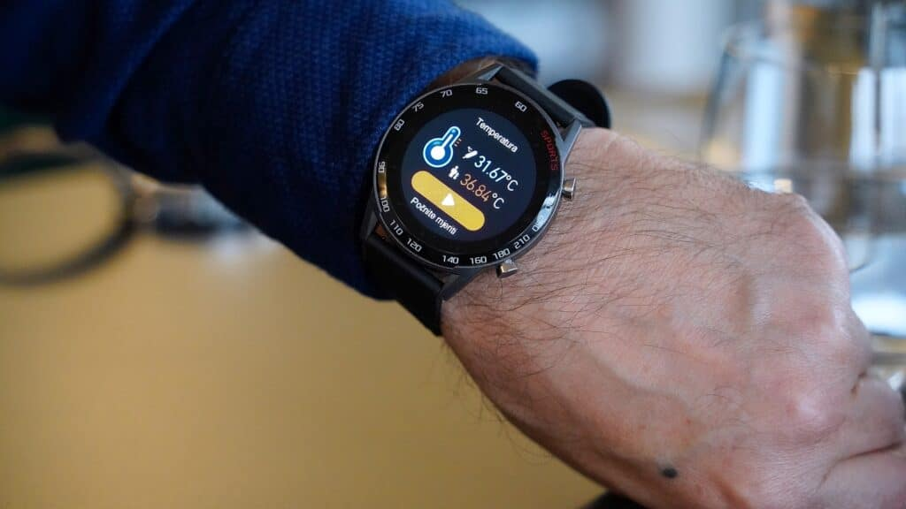 MeanIT Smart Watch M20 Termo 16