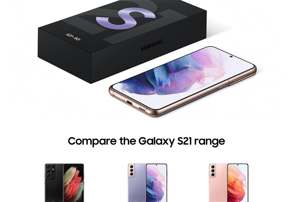 Galaxy S21 5