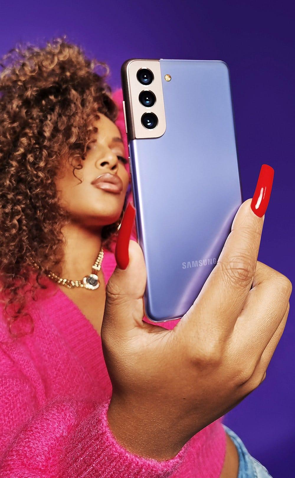 S21 selfie