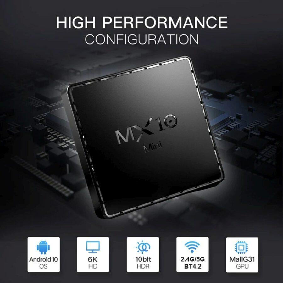 MX10 Android TV box 1