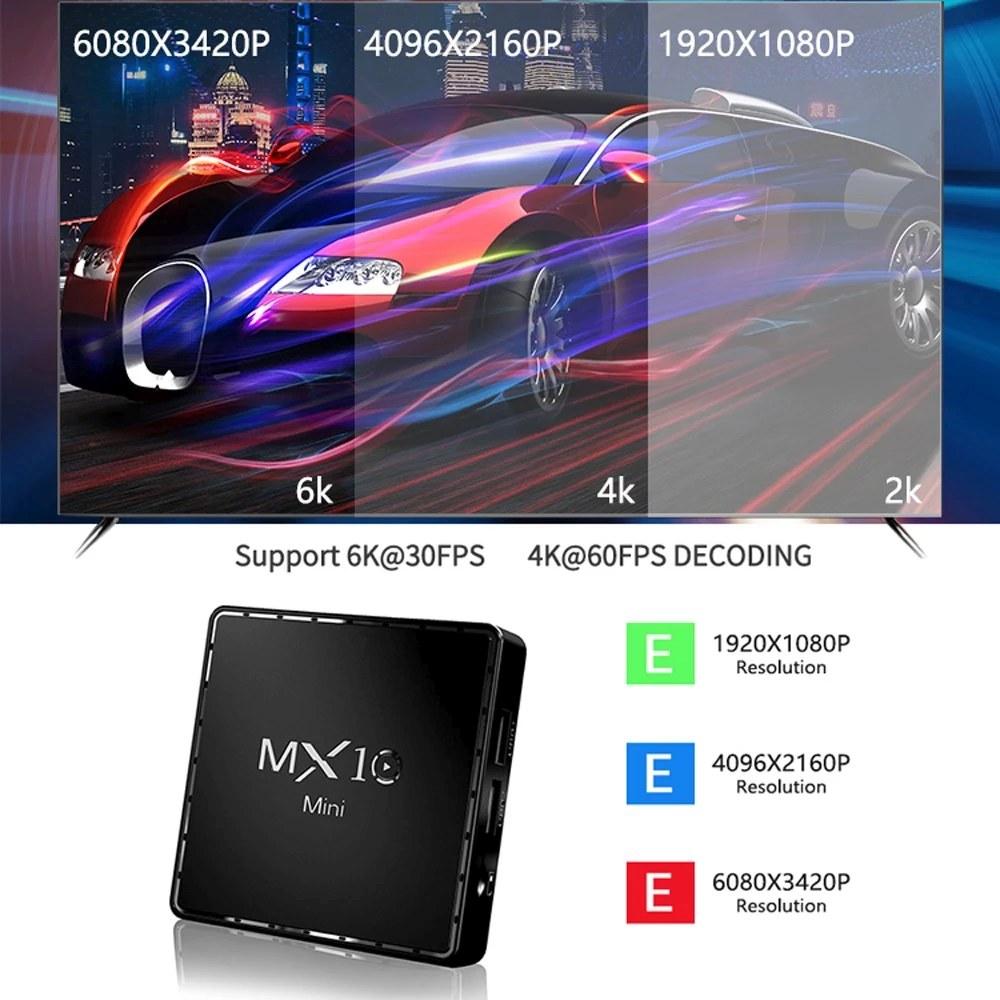 MX10 Android TV box 2