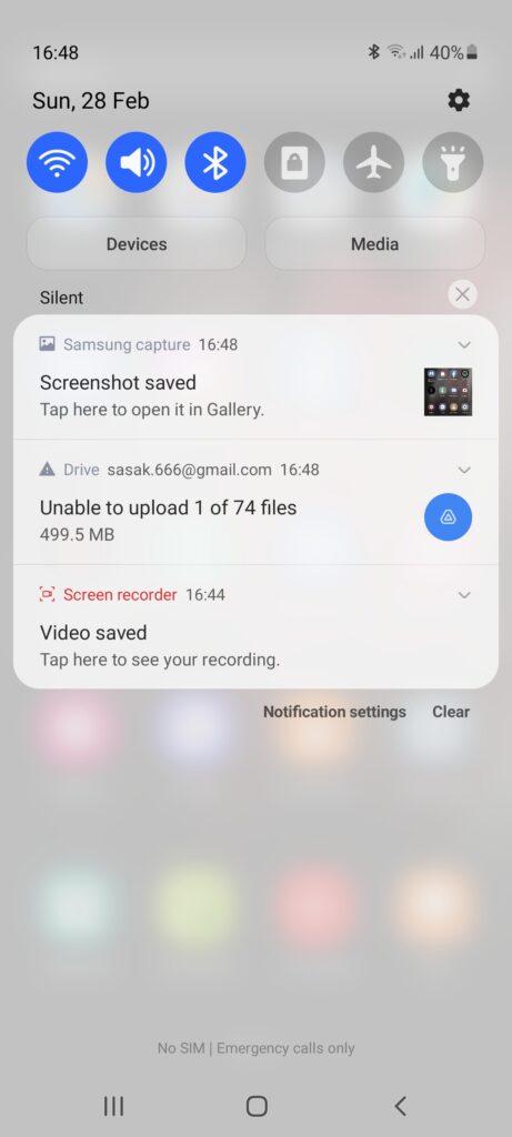 Screenshot 20210228 164853 One UI Home