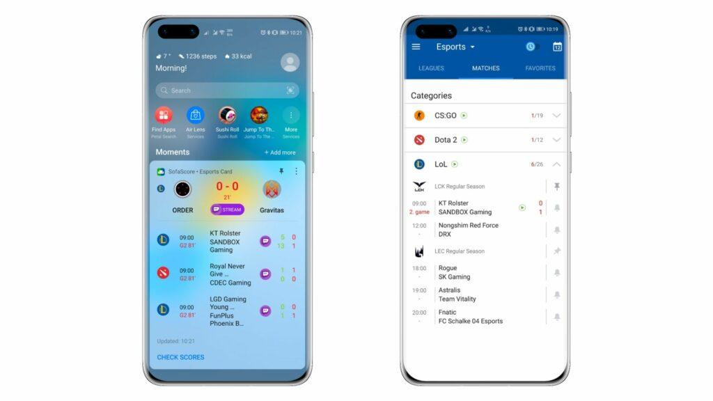 Huawei u ekskluzivnom partnerstvu sa SofaScoreom 1
