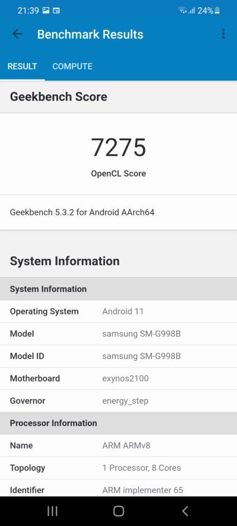 Screenshot 20210223 213909 Geekbench 5