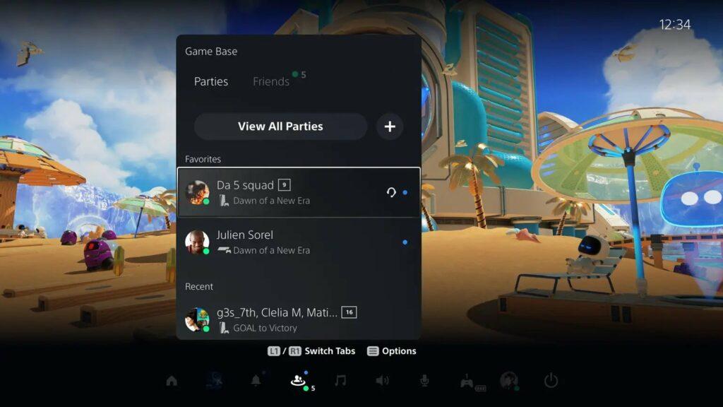 PS5 update 3