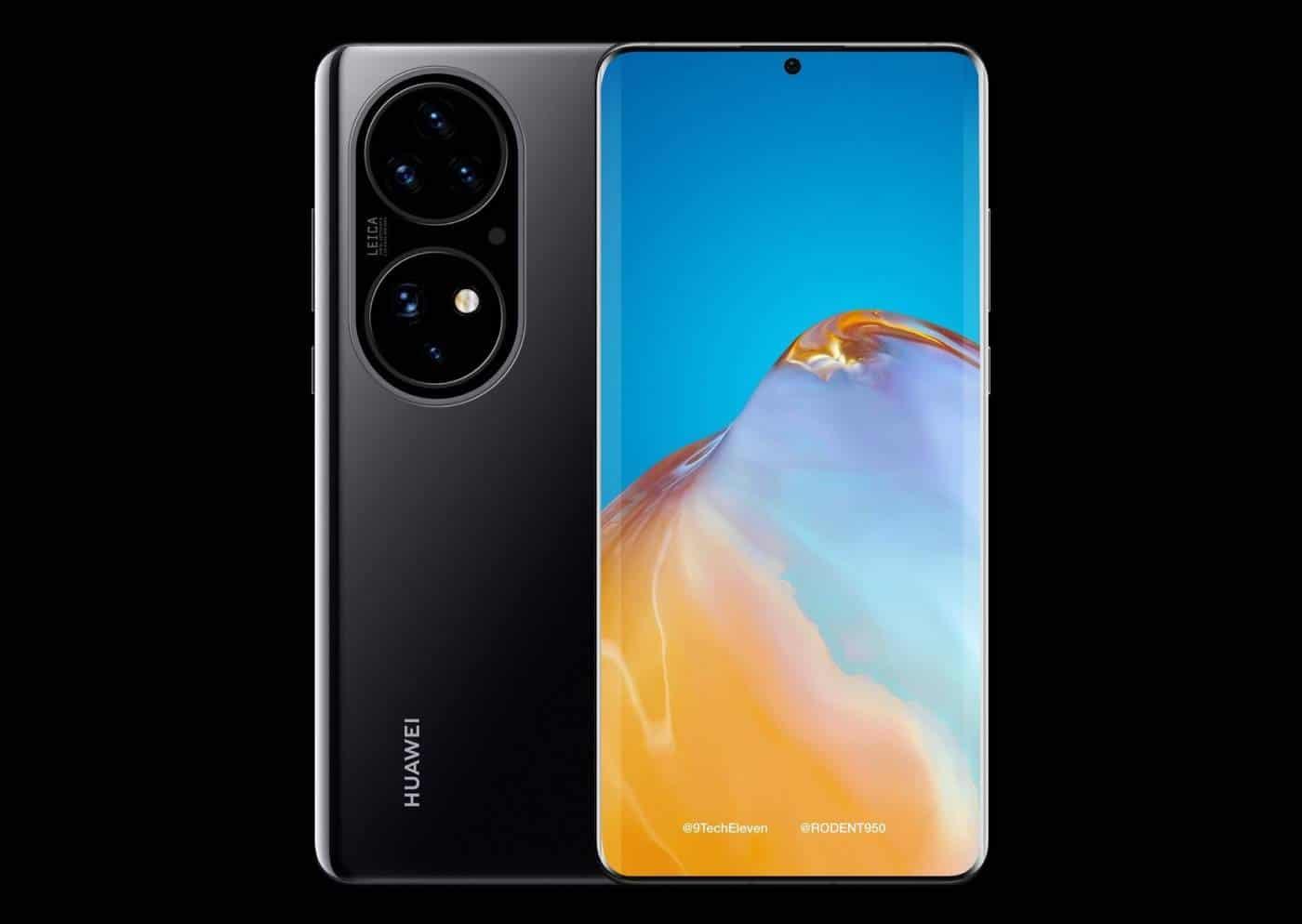 HuaweiP50 render #2