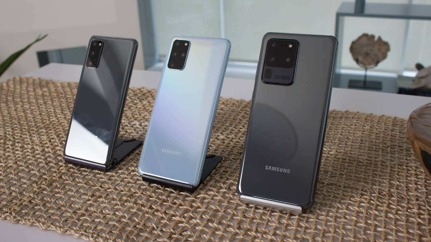 Galaxy S20 Obitelj