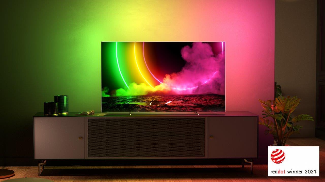 Philips TV OLED806 RedDot 1
