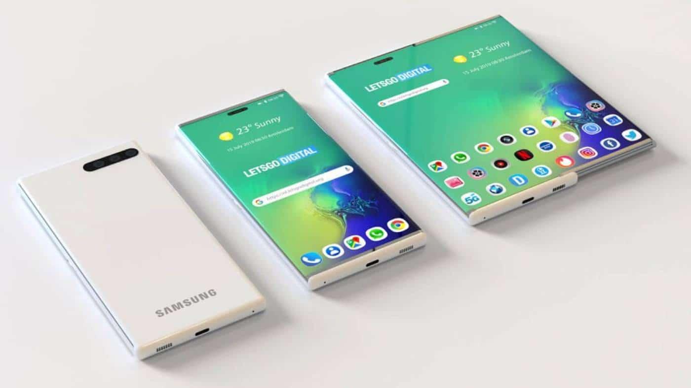 Samsung prototip zaslon