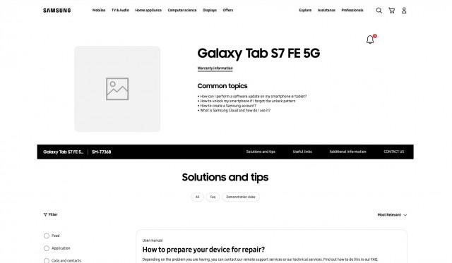 Galaxy S7FE