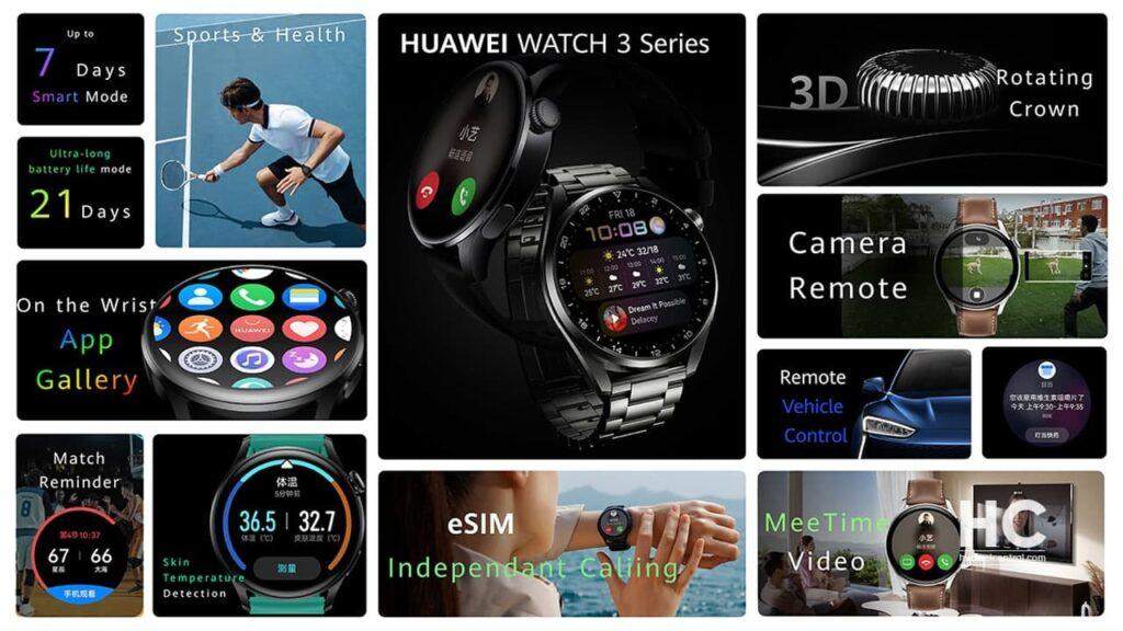 Huawei Watch 3 mogucnosti